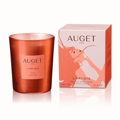 L'ARTISTE - Bougie parfumée - PACKSHOOT - Fragrance Cuir