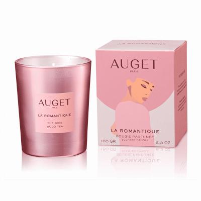 La ROMANTIQUE - Bougie parfumée - PACKSHOT - Fragrance Thé Bois