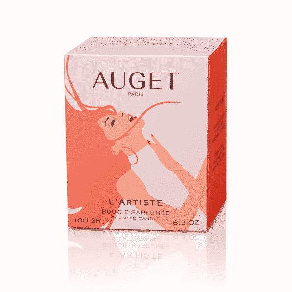 L'ARTISTE - Bougie parfumée - ETUI - Fragrance Cuir