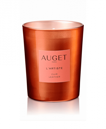 La MYSTERIEUSE - Bougie parfumée - VERRE - Fragrance Cuir
