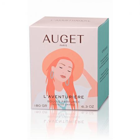 L'AVENTURIERE - Bougie parfumée - ETUI - Fragrance Cèdre