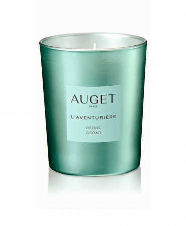 L'AVENTURIERE - Bougie parfumée - VERRE - Fragrance Cèdre