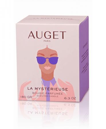 La MYSTERIEUSE - Bougie parfumée - ETUI