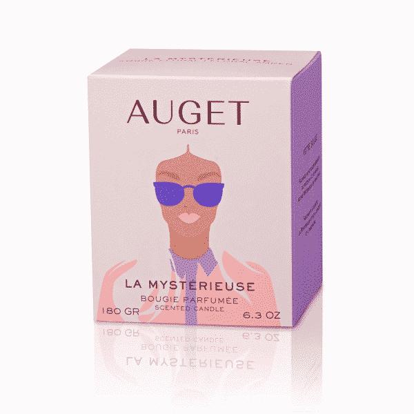 La MYSTERIEUSE - Bougie parfumée - ETUI - Fragrance Ambre Floral