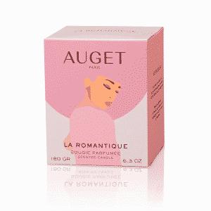 La ROMANTIQUE - Bougie parfumée - ETUI - Fragrance Thé Bois