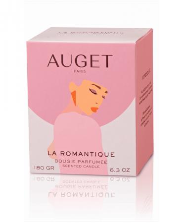 La MYSTERIEUSE - Bougie parfumée - ETUI - Fragrance Thé Bois