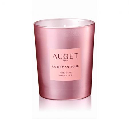 La ROMANTIQUE - Bougie parfumée - VERRE - Fragrance Thé Bois