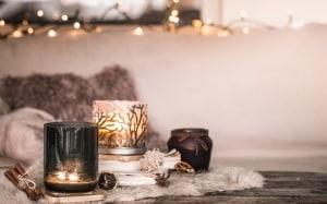 Bougies de décoration