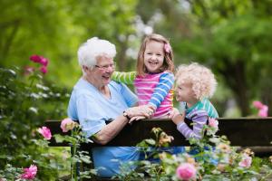 Une bougie parfumée pour la fête des grands-mères