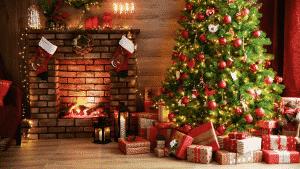 Une bougie parfumée pour les fêtes de Noël
