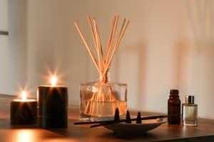 Huiles essentielles pour bougies